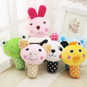 Durable Pets Plush Sound Squeaky Toy Cute Animal Shape Stuffed Training Chewing Toys dog cat Vocal Animal Plaything Dog Training & Obedience