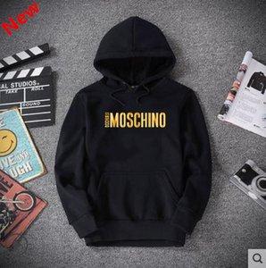 G8Erkekler ve kadınlar, siyah hoodies, şık kazak, sweatshirt için 2020 yeni hoodies Moschino, s-5XL.tasarımcılüks mallar