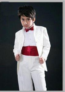 New Style Wedding Dress boy Suit Groom Wear & Accessories Boys' Attire Groom Tuxedos kid suits baby custom made Blazer