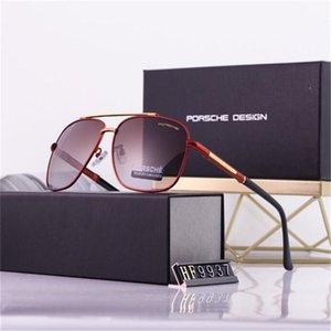 Fashion Oversized metal Sunglasses Vintage Large Frame Plank Lightweight Sunglass Men130