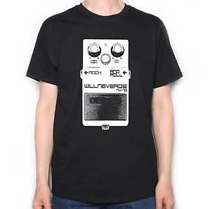 A Tribute To Neil Young T-shirt Hé ma guitare Pédales d'effet