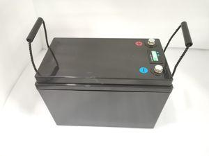 Puissance Lifepo4 12V 150Ah / 125ah / 120Ah Lithium ion Batterie pour RV / Système solaire / Location / Chariots de golf de stockage