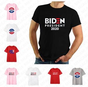 Women Men Joe Biden 2020 The Us Election Letters Printed T-shirt Unisex Summer Top Tees Adults Casual Sports Short Sleeve Shirt Tee D7209