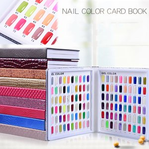 120/160/216 Cores Mosaic Book Chart Chart Para Nail Shop Manicure Nail Color Display Cartão Gel Unhas Polonês Display