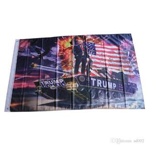 Donald Trump Flagge 90X150 CM USA Fahnen Digitaldruck Werbebanner Polyesterfaser Mehr Farbe Fabrik Direktverkauf 15cg C1
