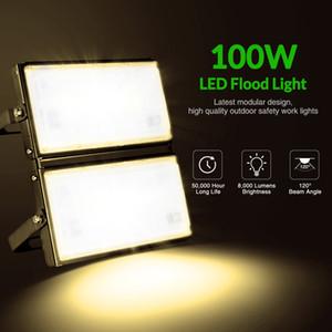 100W luz ultra-delgada Módulo 110V blanco caliente reflectores de almacén, hotel, piscina, taller Calzada llevó la lámpara