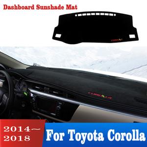 Auto-Armaturenbrett-Abdeckung Trennmatte für Blumenkrone 2014-2018 rutschfesten Teppich Schlagmatte Sonne car cover Pad Styling Zubehör
