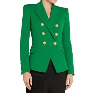 Nuovi progettista di autunno delle donne eleganti Casual look mozzafiato Blazer verde TREND PLUS Blazers dimensioni di alta qualità