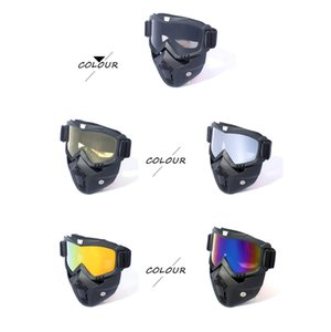 US STOCK! Sport Masque de ski masque Faire du vélo Casquettes Moto Barakra Chapeau CS coupe-vent tête de poussière fixe Masque camouflage tactique FY6270