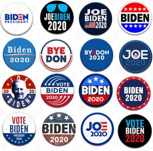 18 Styles Joe Biden Broche 2020 élection présidentielle américaine Biden Badge Tinplate Election Badges BIDEN Vote Broche Party Favors D7204 chaud