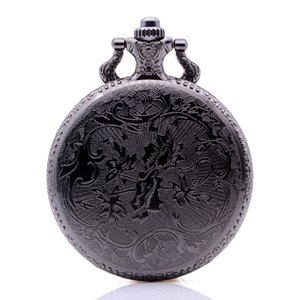 Drop Shipping Vintage Antique The Elder Scrolls V Skyrim Mens Womens Quartz Pocket Watch Analog Pendant Necklace Regarder Gift