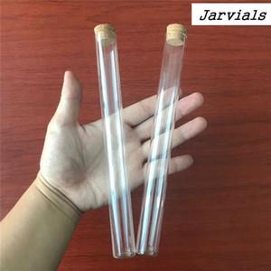 22 * 220 мм 62 мл пустое прозрачное плоское основание с пробковой пробкой длинные стеклянные бутылки флаконы стенд пробирки банки 24 шт. T200507