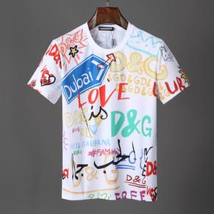 T-shirts homme 2019 de marque Vêtements Europe et États-Unis L'impression de haute qualité dans le monde entier est très parfaite Head Medusa Label