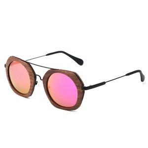 BerWer noz Atacado de bambu de madeira óculos polarizados Ladies Eyewear