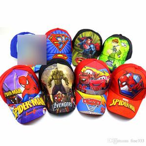 كارتون قبعات الصيف أطفال ملونة قبعات الأطفال القطن قبعات هدايا Whelesale شحن مجاني عن طريق DHL W147T