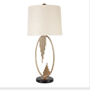 E27 홈 실내 침대 램프 bedlamp 룸 현대 침실 금속 흰색 커버를 생활 흰색 커버와 함께 미국 스타일의 테이블 램프