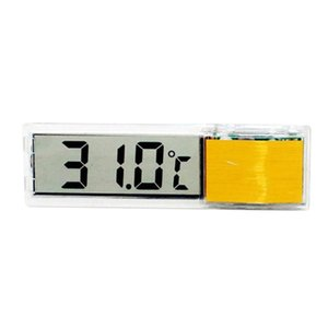aquarium thermometer digital lcd electronic fish tank 3d digital temperature gauge sticker shrimp fish turtle pet products