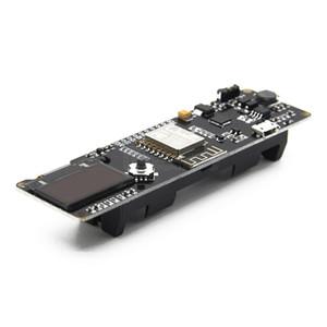 Freeshipping ESP8266 ESP-WROOM-02 0.96 inç OLED Geliştirme Kurulu Mini-WiFi NodeMCU Modülü ile ESP8266 Çip + 18650 Pil Tutucu