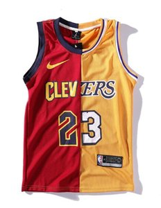 Europe and the new version of the letter printing color matching jersey basketball mesh men's vest, sports men and women couple back