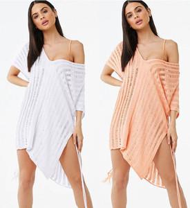 Avrupa için sınır ötesi special ve içi boş örgü gevşek bikini güneş bluz ABD sahil tatil Ekspres