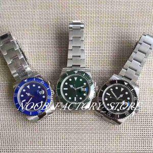 2019 Super Factory V8s 40MM Automatic Eta 2836 Movement Ceramic Bezel Luminous Calendar Sliding clasp Wristwatches Gift Men's Watches