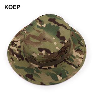 worldkick2018 nepalesi Boonie Cappelli Tactical Airsoft Sniper Camouflage Albero Bucket Hat Accessori esercito militare American Military Men Cap