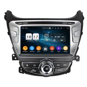 Окта Ядро 4G RAM 32G ROM Android медиа-плеер 9,0 Автомобильный DVD GPS для Hyundai Elantra 2014-2015