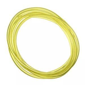 3m Long Yellow Tygon Petrol Fuel Gas Pipe Hose For Chain Saw Blower