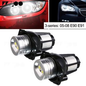 2 Adet araba-styling Melek Gözler Iblis gözler ışık Otomatik Lamba 12 V LED Melek Gözler için Beş Renk 3-series BMW E90 E91