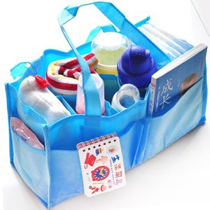 Portable mother bag, mummy bag, non-woven cloth, inner bile bag, multi-function 7-grid partition