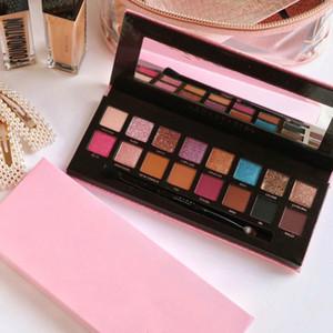 Factory Direct DHL-freies Verschiffen neue Make-up Augen heiße Marken Amrezy Lidschatten-Palette 16 Farben schimmern Matte Eye Shadow