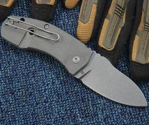 Al aire libre SpiderNO C 158 plegable del cuchillo D2 de la manija cuchillos de titanio cuchilla de supervivencia camping autodefensa EDC regalo el envío libre Navaja