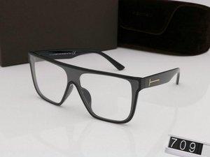 Оптово-роскошный топ большого Qualtiy нового способ 709 Tom солнечных очков для парня девушки Erika EyeweDesigner Марка ВС очки с оригинальной коробкой томом