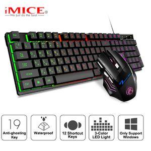 Gaming Keyboard meccanica sentimento Torna acceso tastiere USB 104 Copritasti con apertura della tastiera impermeabile 67 Supporto controller di gioco Computer USB plug in