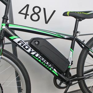 48V 1000W Pil 48V 36V 17AH elektrikli bisiklet E-bisiklet Pil 500W 750W BBS02 BBSHD motorlu kitleri