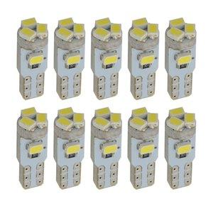 10 개 T5 LED W1.2W 5 3020 SMD 70 74 자동차 웨지 기본 램프 T5 대시 보드 램프 74 Led 계기판 클러스터 라이트 게이지 전구