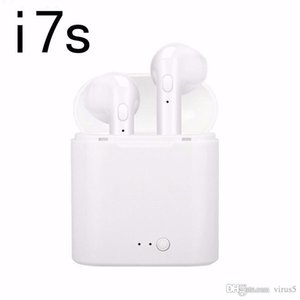 i7s TWS Bluetooth Earphone Stereo Earbud Wireless Headphones With Charging Box(Single Bluetooth Headset with Charging Box