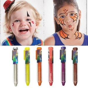 12-Colors Body Paint для Лицевых Портативных красок Unique тела для детей Праздничной партии Supplies Lt Других партии События Supplies