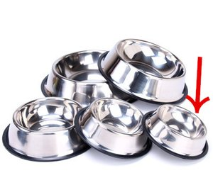Нержавеющая сталь Dog Powl Pet Bowl кормления для еды и воды для кошек и маленьких собак