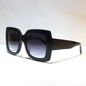 Lentes de sol populares 0083 Summer Style Square para las mujeres Adumbral gafas de calidad superior de la lente UV400 de color mezclado con la caja original 0083S
