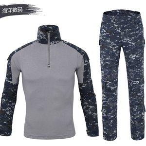 Tactical Camouflage Uniform Clothes Suit Men Us Army Clothes Combat Shirt Cargo Pants Uniform Battle