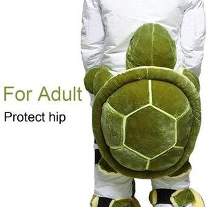 Adult Kids Outdoor Skiing Skating Snowboarding Sports Knee Hip Protective Ski Gear Children Knee Pad Hip Pad Cute Turtle Shape