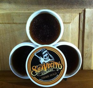 Suavecito Pomade Hair Waxes Strong Style Restoring Pomade Hair Gel Style Tools Firme Hold Big Skeleton Slicked Back Hair Oil Wax Mud