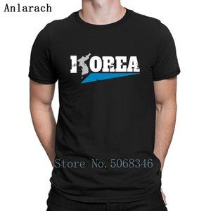 Corea del Norte Bandera de Corea del Sur Corea del regalo camiseta de algodón famoso personaje tamaño original otoño del resorte de la nueva manera de S-3XL Camisa