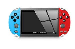 4,3 pouces pour console de jeu Joueur X7 300 Gratuit Jeux Retro LCD GBA portable Affichage Game Player vs commutateur HOT VENTE