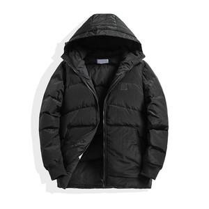 topstoney الأسود البخاخ سترة الشتاء الرجال معطف جديد دمية أسفل سترة أزياء العلامة التجارية ذات جودة عالية في فصل الشتاء أوزة بيضاء أسفل سترة ساخنة رجل