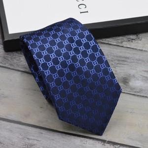 Mens Ties New Brand Man Fashion Brief Krawatten Hombre Gravata Slim Tie Classic Business Casual schwarz blau Krawatte für Männer