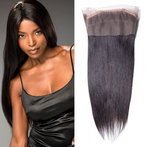 TKWIG 4 bundles virgin straight hair with 360 lace frontal closure Good Service