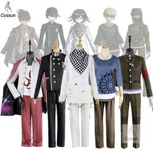 게임 새로운 Danganronpa V3 란타로 아마미 Ouma을 kokichi Saihara 슈이치 코스프레 의상 일본어 유니폼 의류