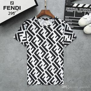 19ss camiseta de diseño mono Off negro camiseta blanca Estampado Hip Hop Camiseta de mujer de manga corta Hombres camiseta de manga corta supreme